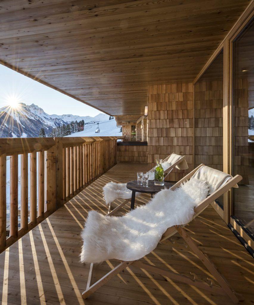 Appartement mit Sonnenterrasse