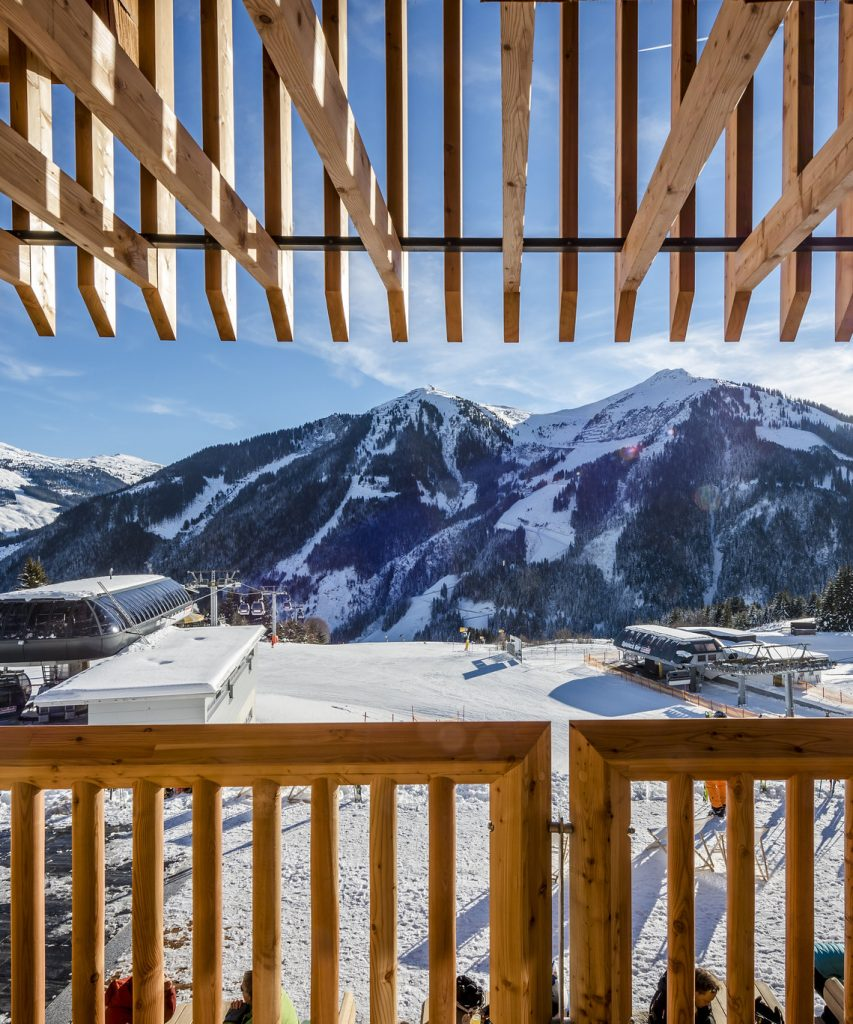 Panoramablick in Saalbach-Hinterglemm