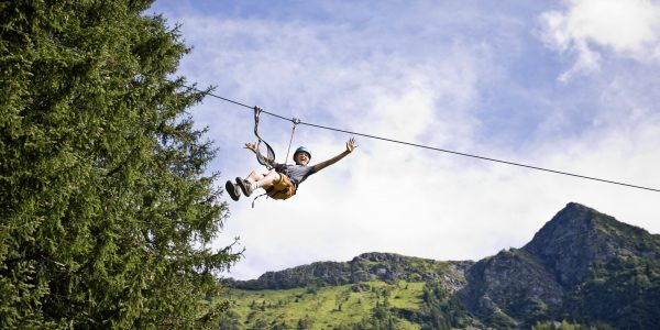 Flying Fox in Saalbach-Hinterglemm