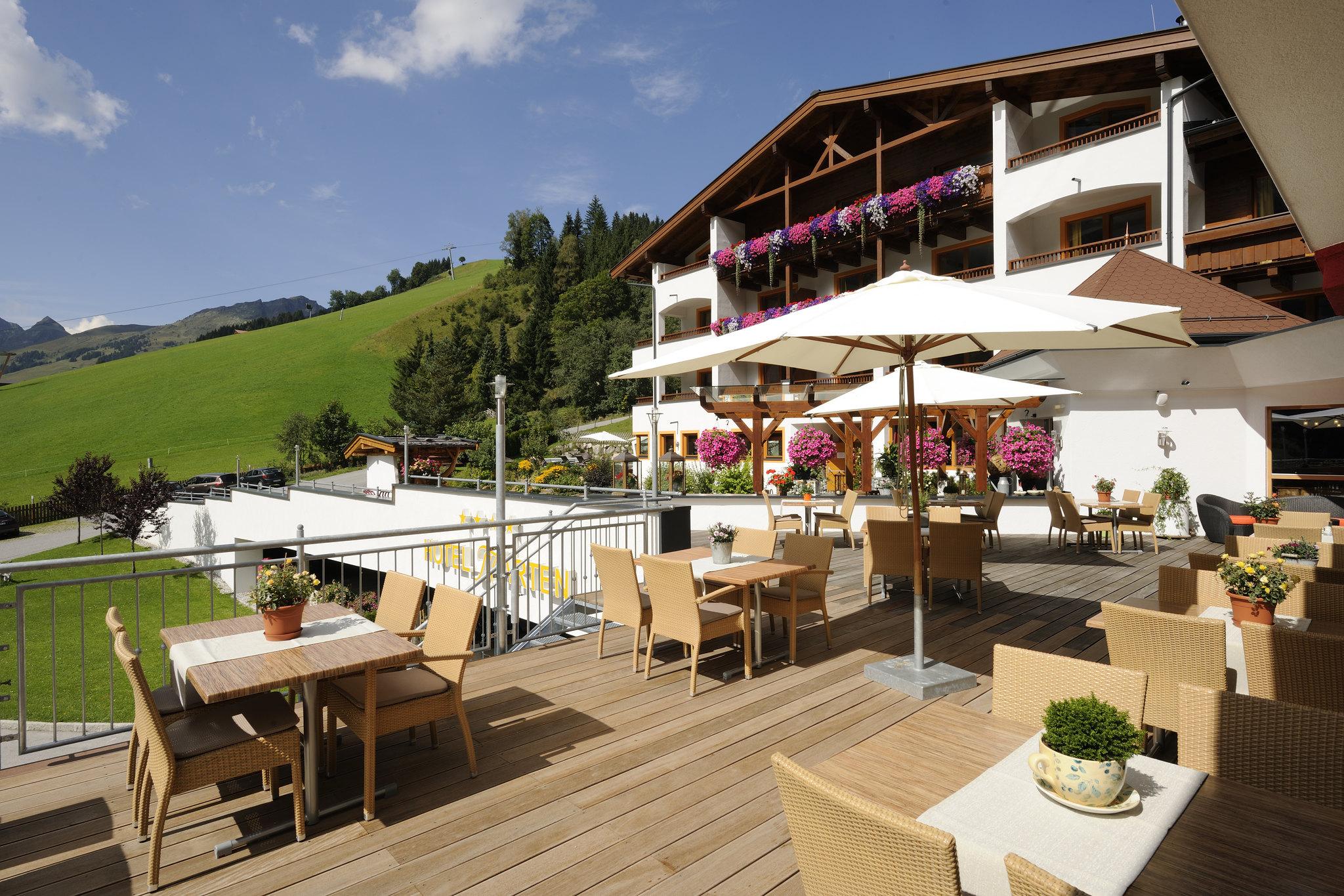 Terrasse Hotel Marten Saalbach-Hinterglemm