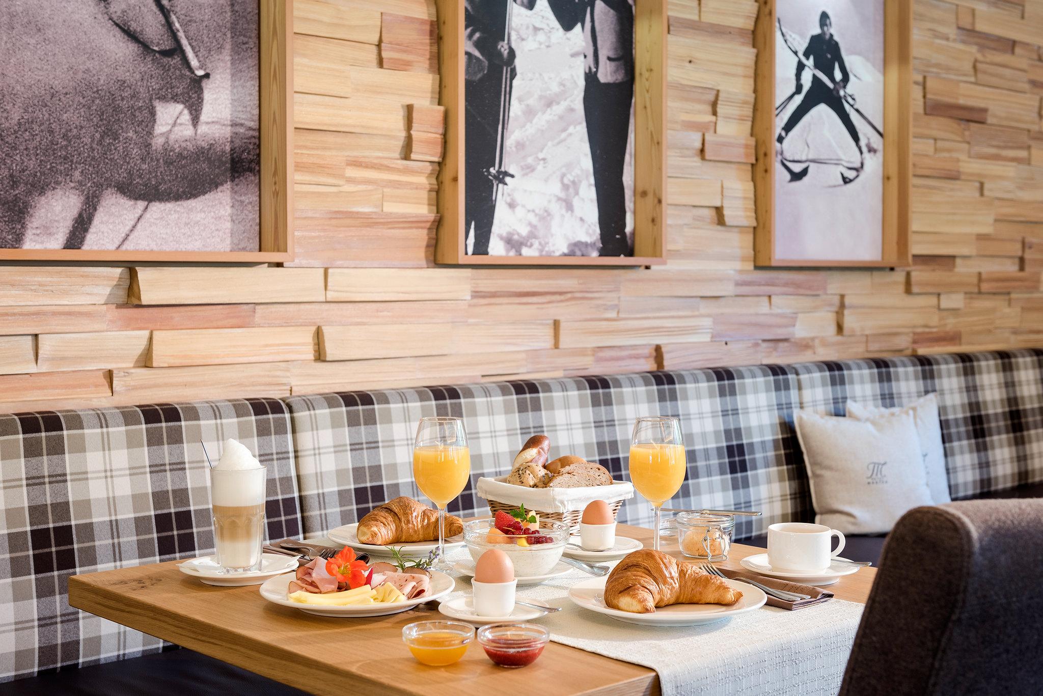 Frühstück im Hotel Marten in Saalbach-Hinterglemm
