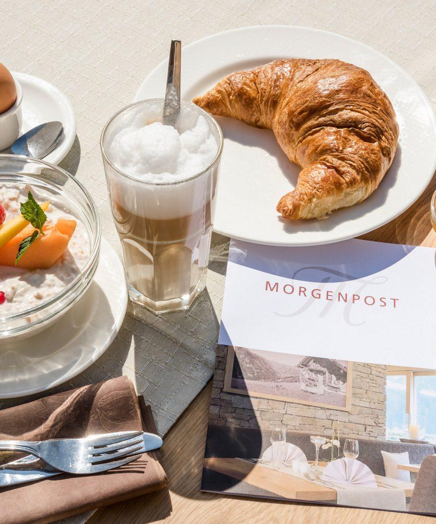 Frühstück im Hotel in Saalbach-Hinterglemm