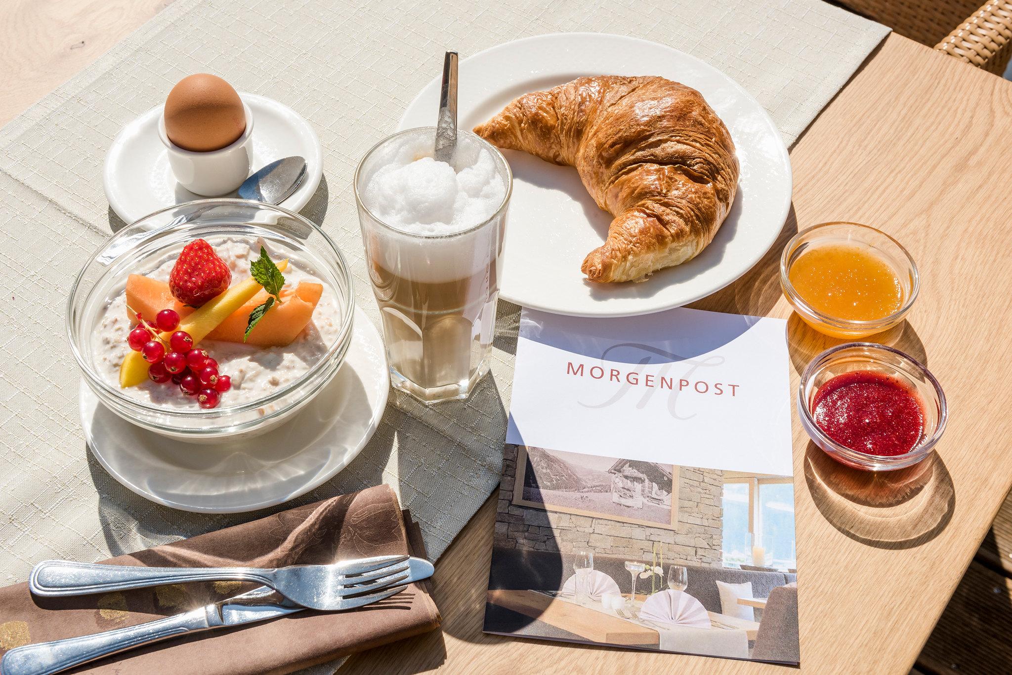Frühstück Hotel Marten in Saalbach-Hinterglemm