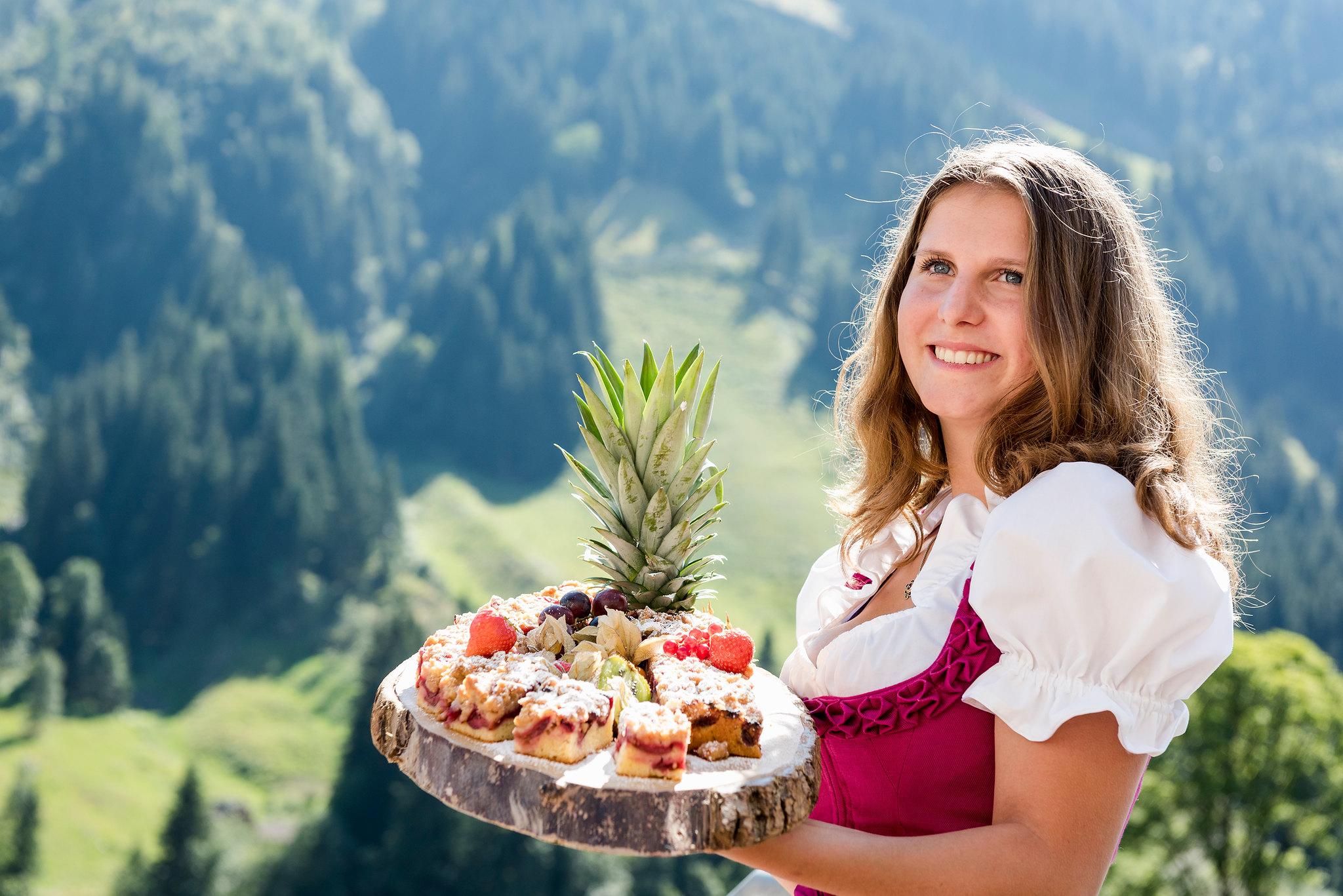 Kuchen Anna's Backstube Hotel Marten in Saalbach-Hinterglemm