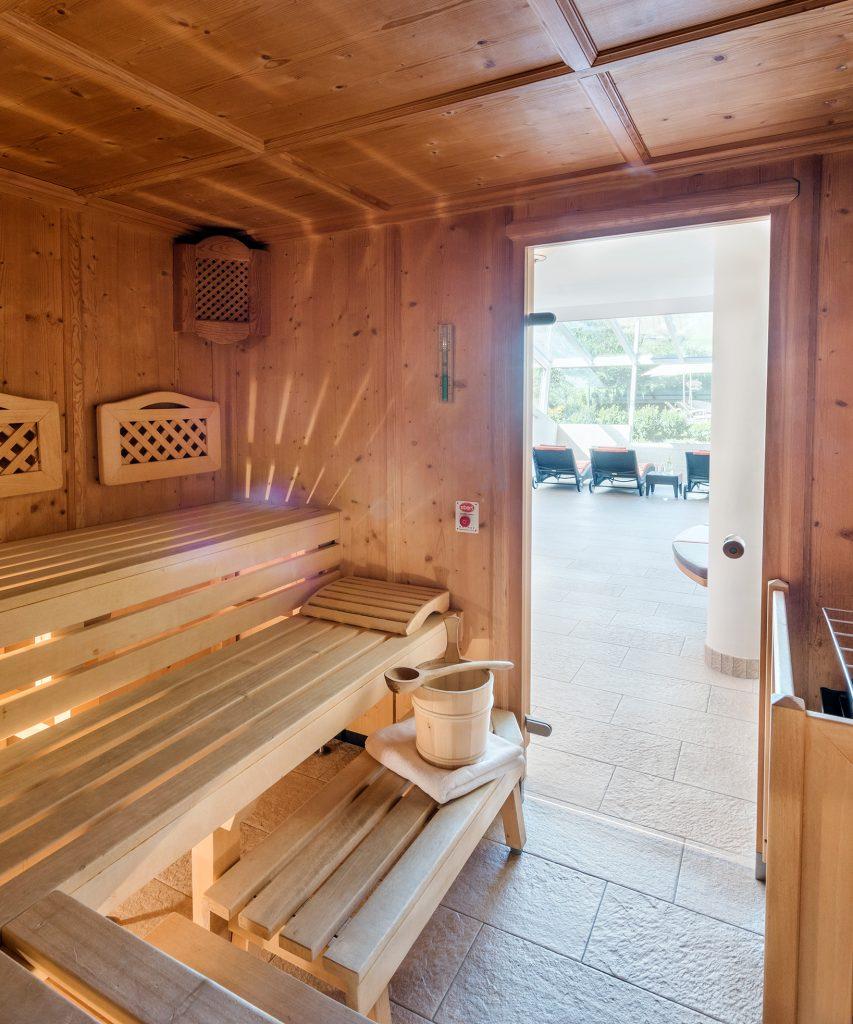 Sauna im Hotel Marten