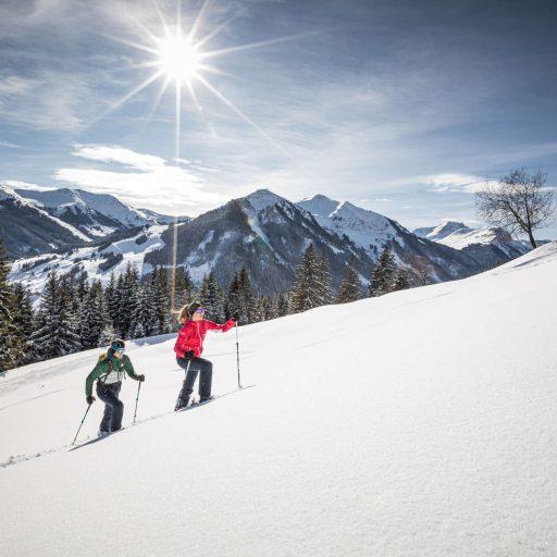 Schneeschuhwandern Hotel Marten in Saalbach-Hinterglemm
