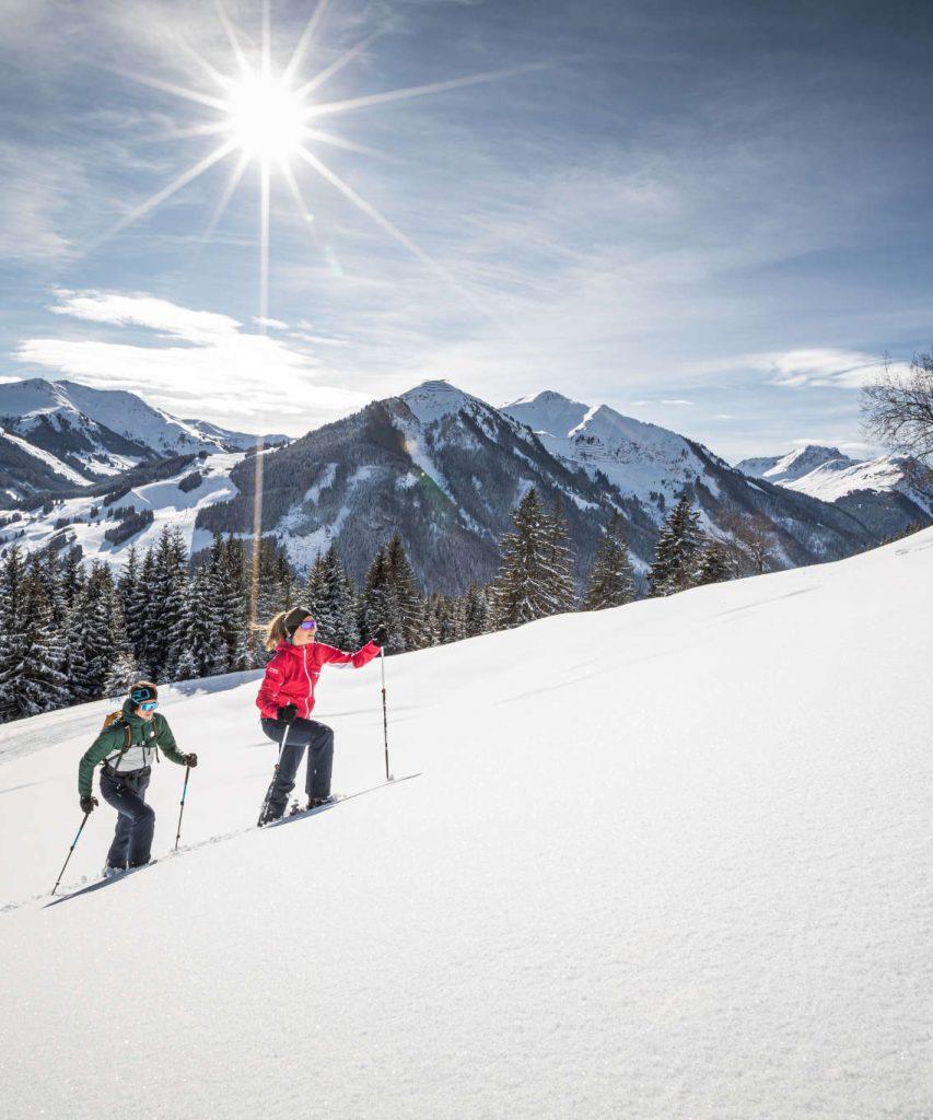 Schneeschuhwandern in Saalbach-Hinterglemm