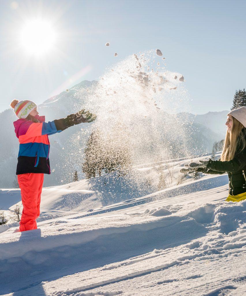 Familienspaß im Winter in Saalbach-Hinterglemm