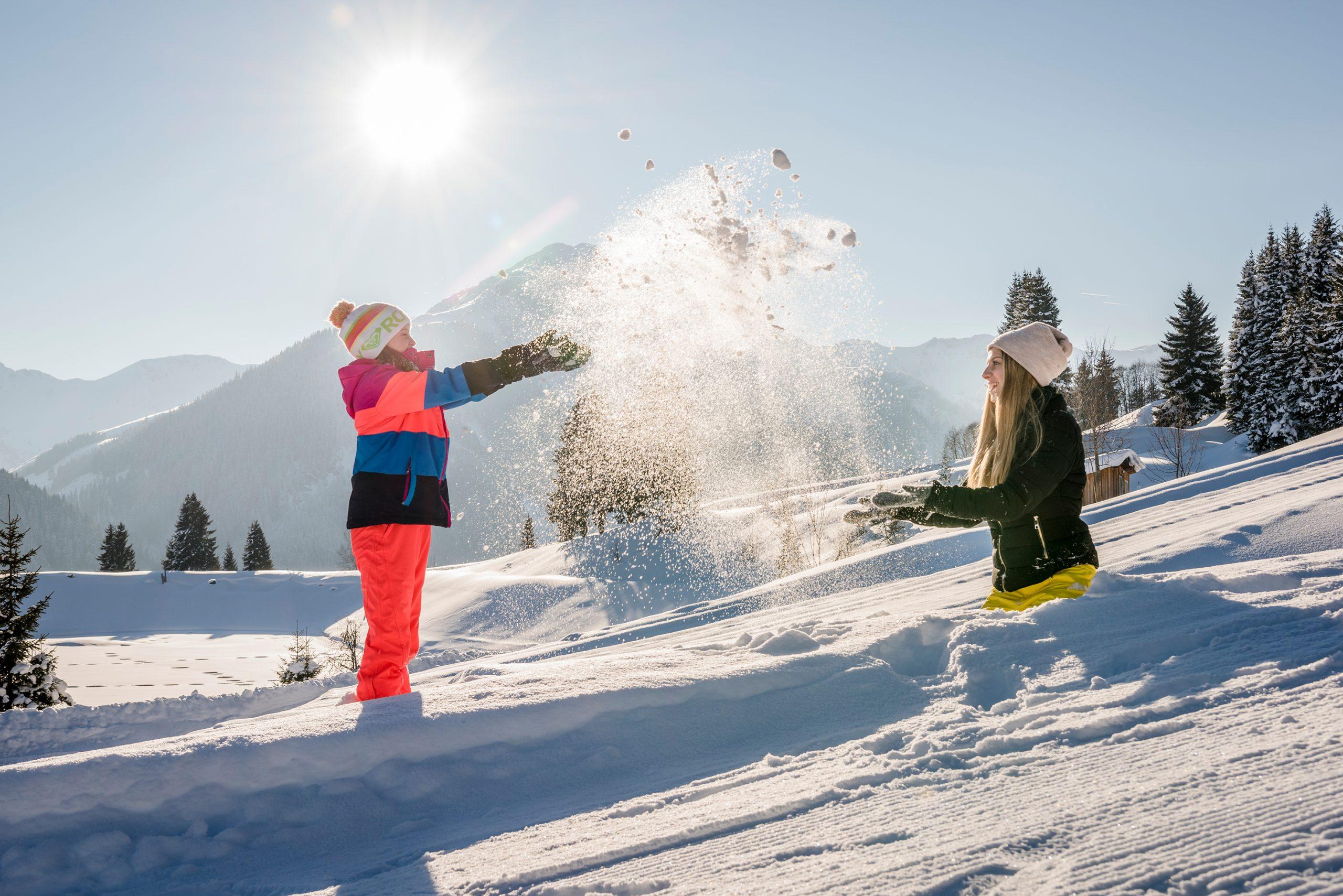 Familienurlaub im Winter in Saalbach-Hinterglemm
