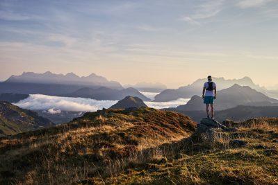 Trailrunning im Sommer in Saalbach-Hinterglemm
