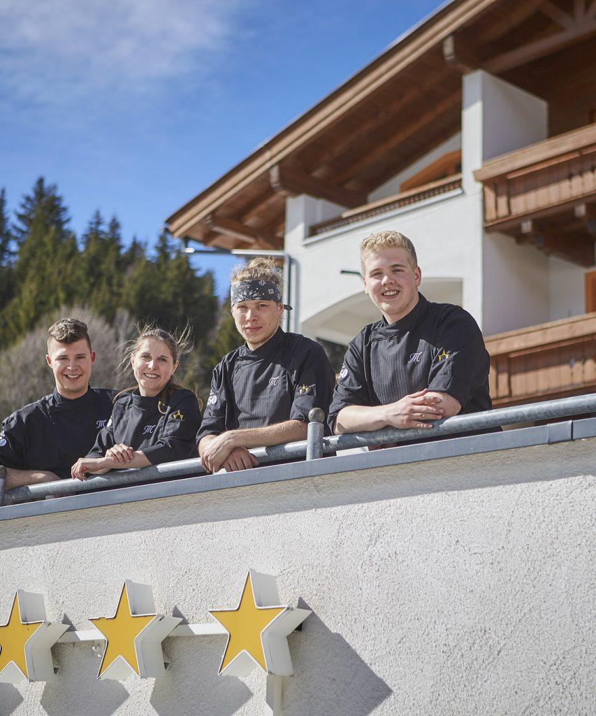 Küchen Team im Hotel Marten