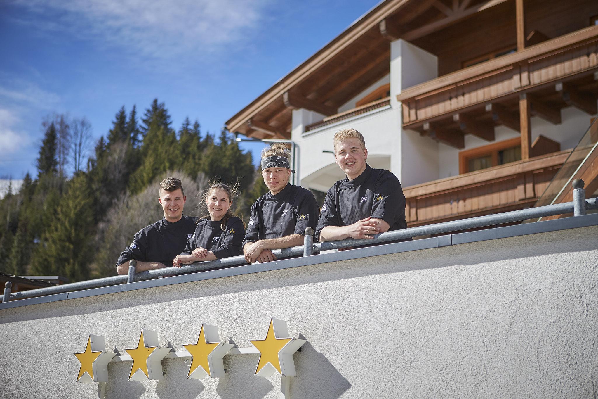 Küchenteam Hotel Marten Saalbach-Hinterglemm