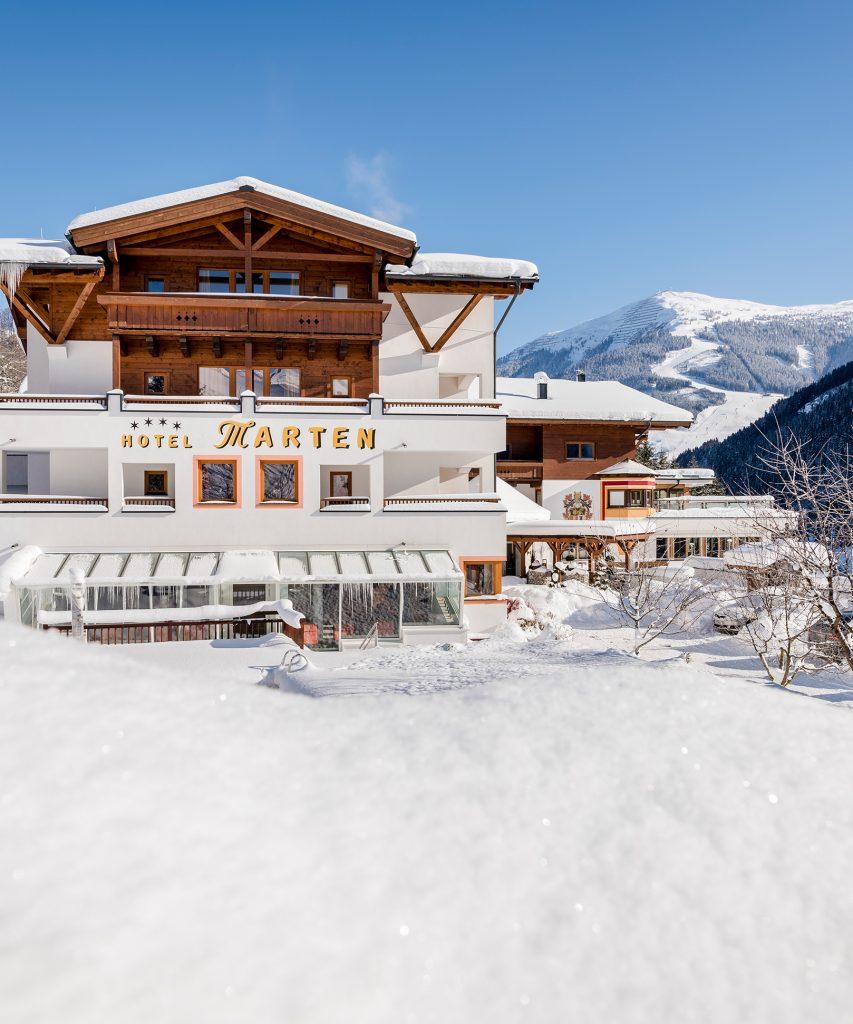 Hotel Saalbach-Hinterglemm im Winter