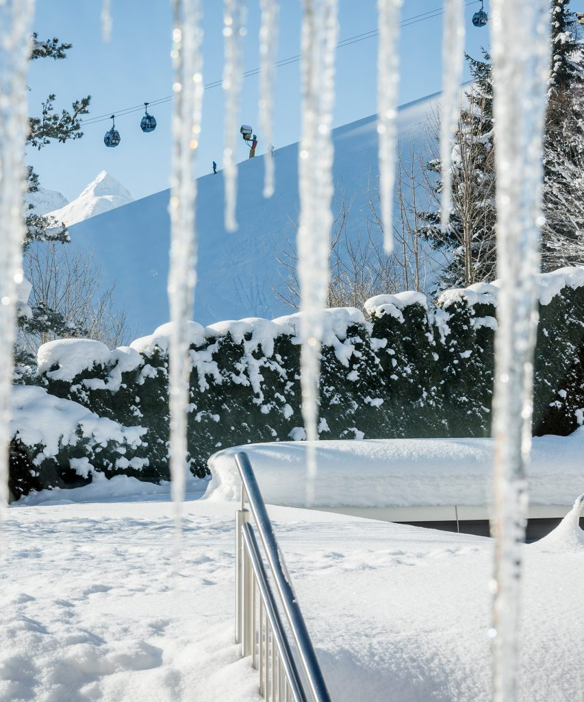 Entspannung im Winter in Saalbach-Hinterglemm