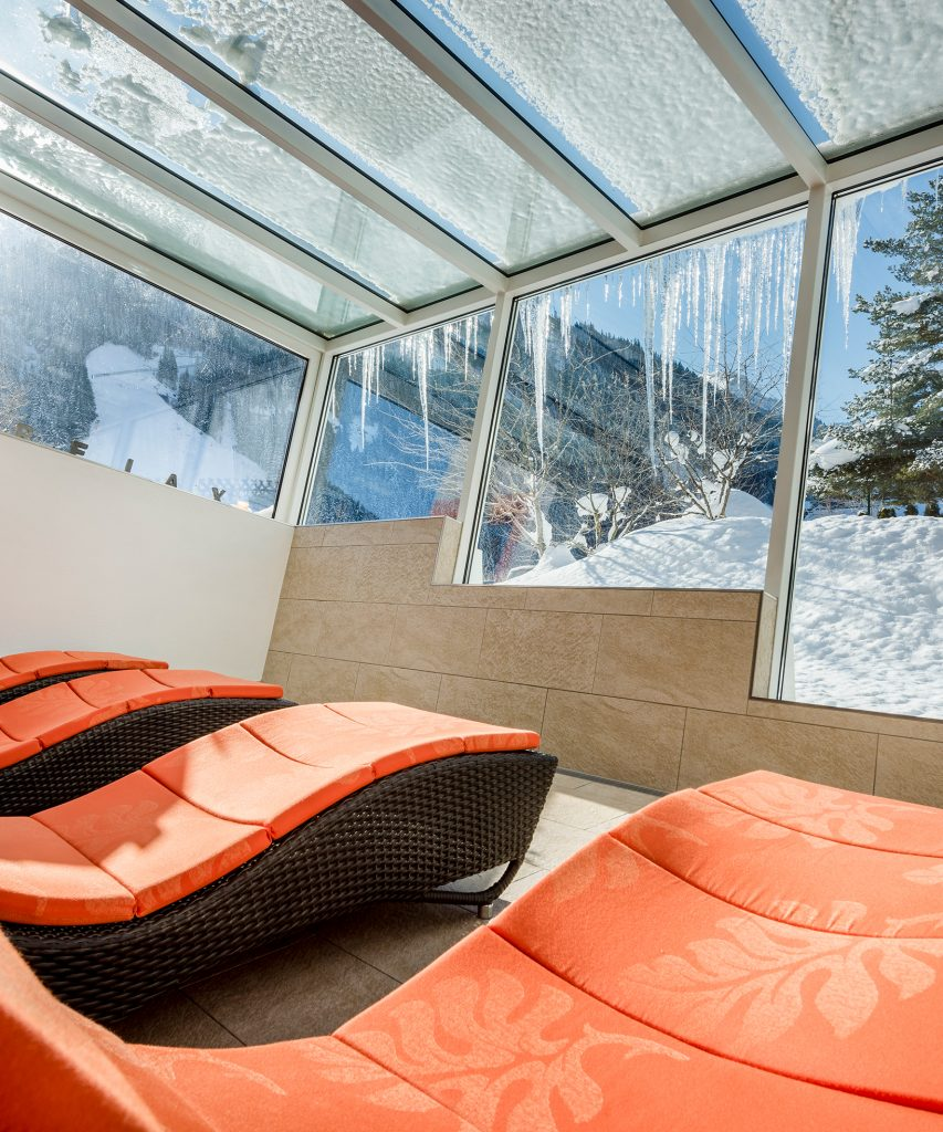 Wellness im Winter in Saalbach-Hinterglemm