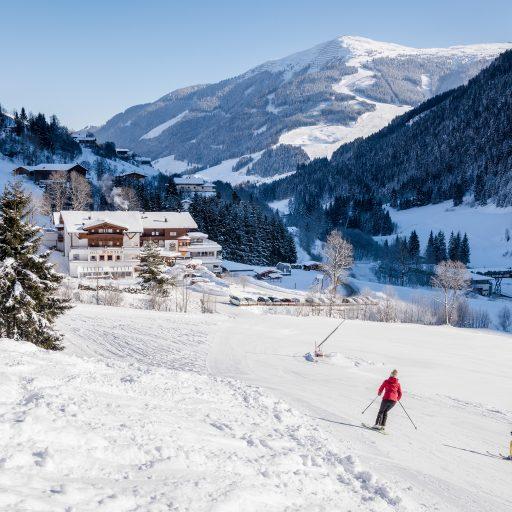 Winterlandschaft Hotel Marten Saalbach-Hinterglemm